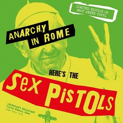 Sex Pistols ‎– Anarchy In Rome lp