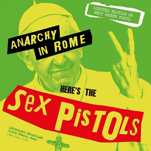 Sex Pistols – Anarchy In Rome lp