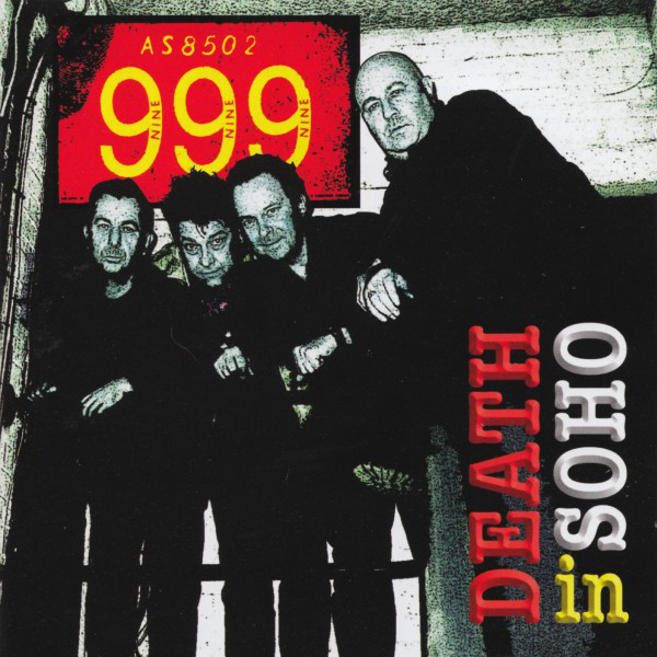 999 ‎– Death In Soho Cd