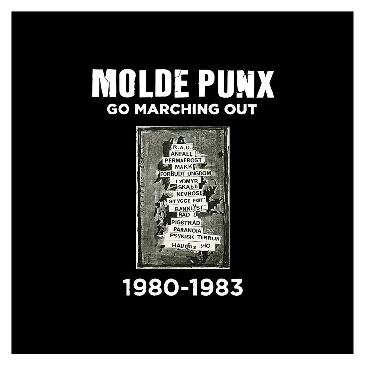 V/a Moldepunx Go Marching Out - 1980-1983 2Lp (gul vinyl)