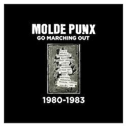V/a Moldepunx Go Marching Out - 1980-1983 2Lp (gul vinyl)