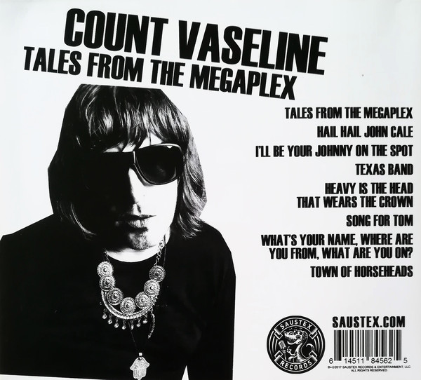 Count Vaseline ‎– Tales from the Megaplex Lp