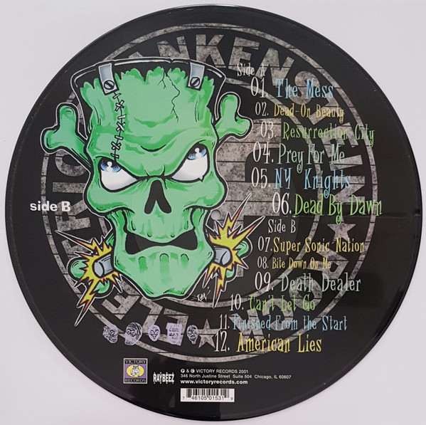 Electric Frankenstein – The Buzz Of 1000 Volts! Lp