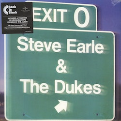 Steve Earle & The Dukes ‎– Exit 0 Lp