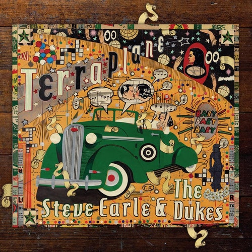 Steve Earle & The Dukes ‎– Terraplane Cd