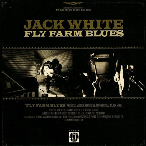Jack White ‎– Fly Farm Blues 7''