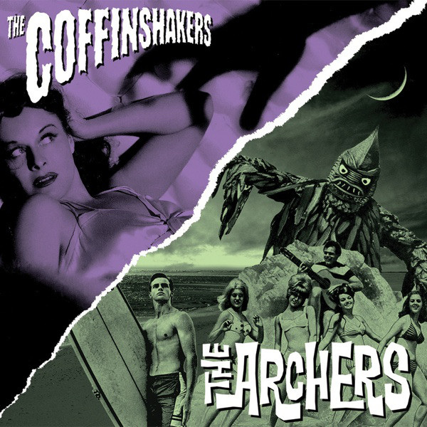 Coffinshakers / The Archers ‎– The Coffinshakers / The Archers 7''
