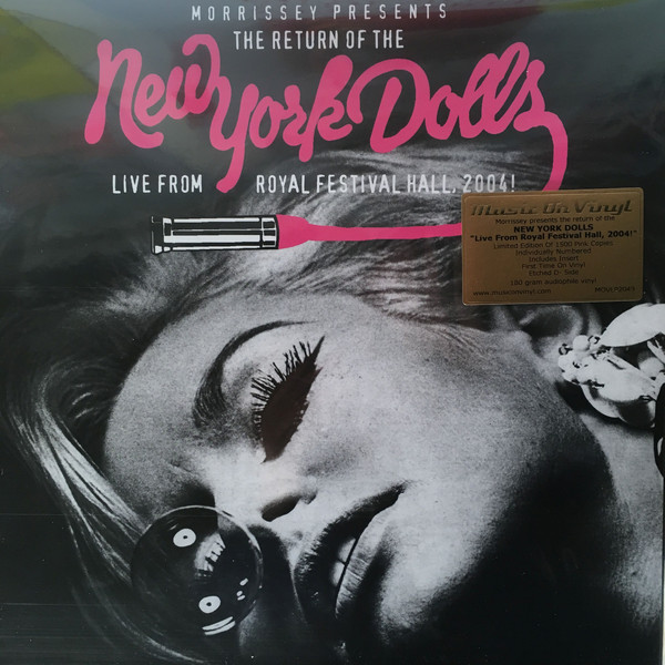 New York Dolls ‎– Live From Royal Festival Hall, 2004 Lp