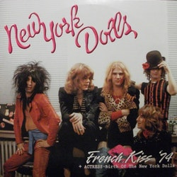 New York Dolls ‎– French Kiss '74 + Actress-Birth Of The New York Dolls 2Lp