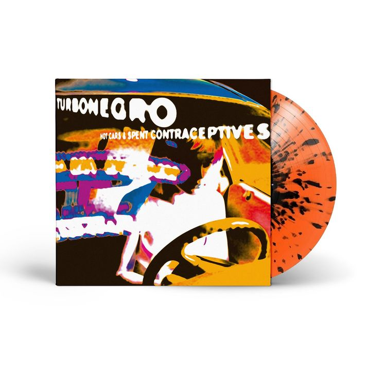 Turbonegro - Hot Cars & Spent Contraceptives - Limited Edition (VINYL - Orange Splatter)  Lp