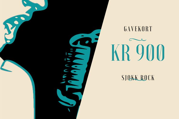 GAVEKORT 900