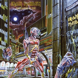 Iron Maiden ‎– Somewhere In Time  Lp