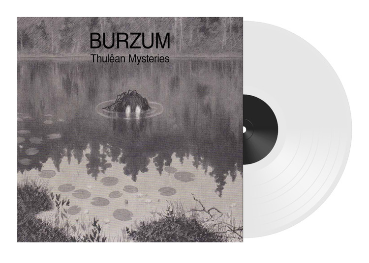 Burzum ‎– Thulean Mysteries - Limited Edition 2Lp