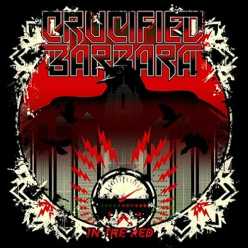 Crucified Barbara -  In The Red  LP