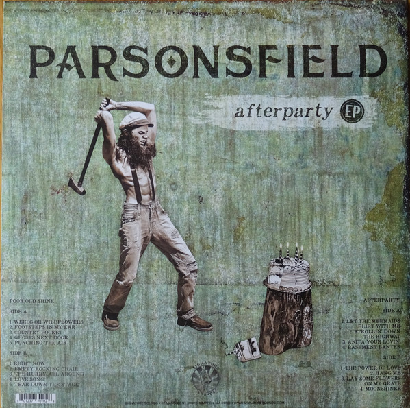 Parsonsfield – Poor Old Shine/Afterparty 2Lp