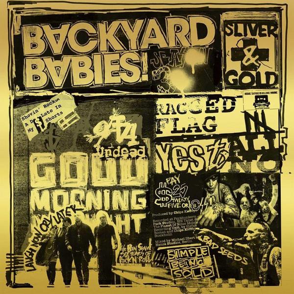 Backyard Babies - Sliver And Gold Lp