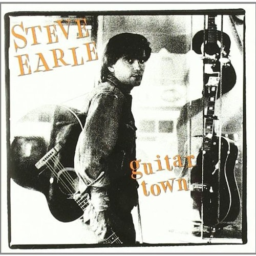 Steve Earle & The Dukes ‎– Guitar Town Lp