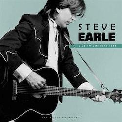 Steve Earle- Live in concert 1988 Lp