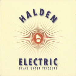 Halden Electric ‎– Grace Under Pressure Cd