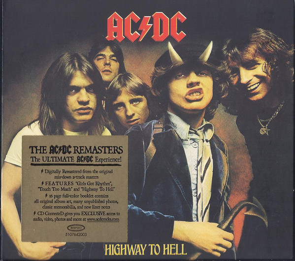 AC/DC ‎– Highway To Hell Cd