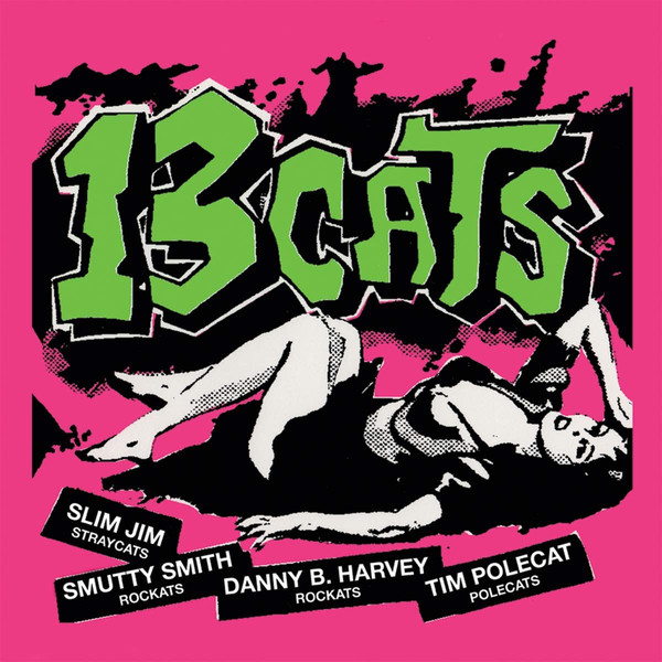 13 Cats – 13 Tracks  LP