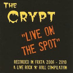 """Various – The Crypt """"Live On The Spot"""" Cd"""