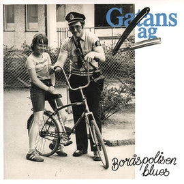 Gatans Lag – Boråspolisen Blues 7''