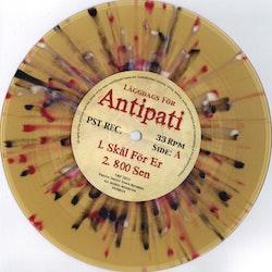Antipatii – Läggdags För Antipati 7''+ cd