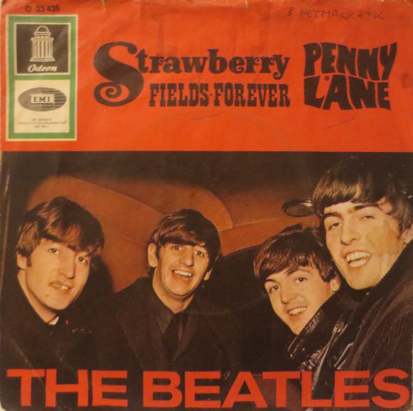 The Beatles ‎– Strawberry Fields Forever / Penny Lane 7''