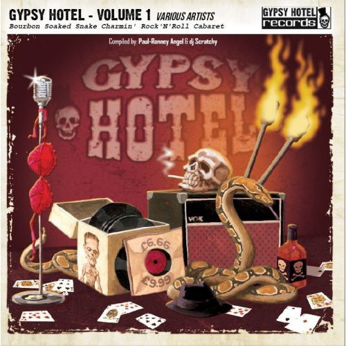 Various – Gypsy Hotel - Volume 1 Cd