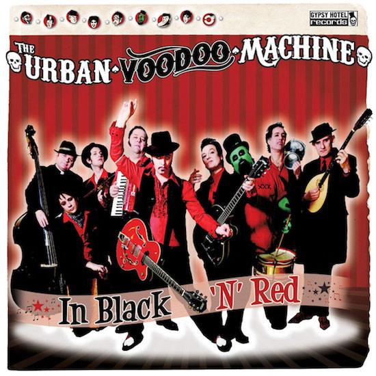 Urban Voodoo Machine – In Black 'N' Red Cd