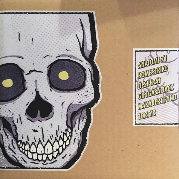 "Various – Anatomi-71 / Bombstrike / Desperat / Giftgasattack / Makabert Fynd / Tortyr – 3x 7"" Split Box Set"