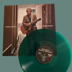 Omar Østli - Central Pensjonat – Limited Edition Green Vinyl Lp