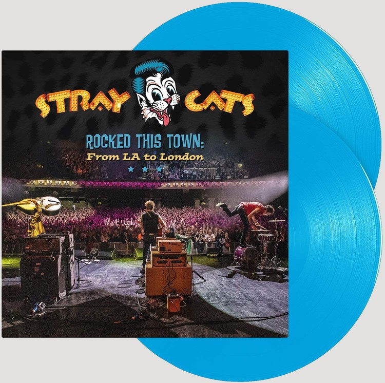 Stray Cats - Rocked This Town: From LA... - LTD 2LP