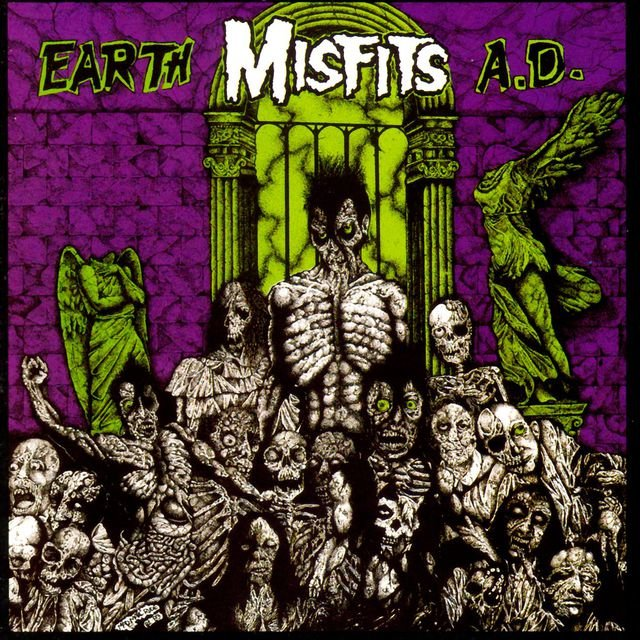 Misfits - Earth A.D LP
