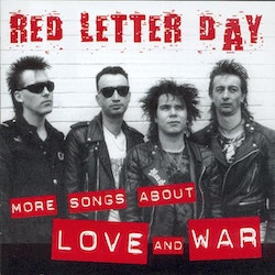 Red Letter Day - More songs about love and war Cd