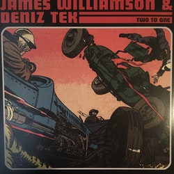 James Williamson & Deniz Tek ‎– Two To One  Lp