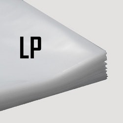 Plastcover for LP / 12""