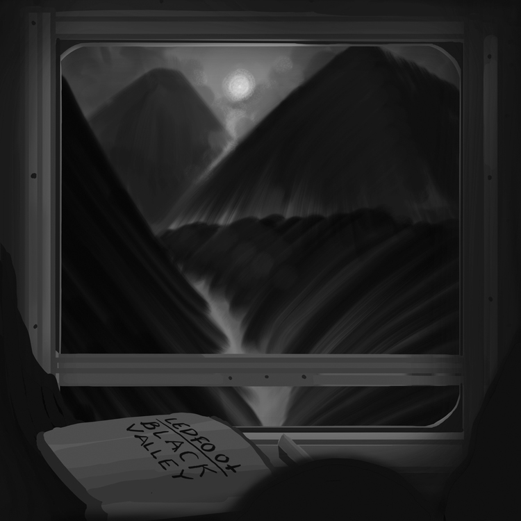 Ledfoot - Black Valley  Lp