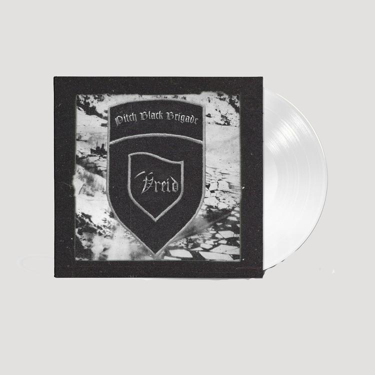 Vreid - Pitch Black Brigade Hvit vinyl Lp