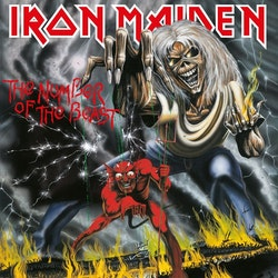 Iron Maiden – The Number Of The Beast  Lp