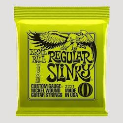 Ernie Ball EB-2221 - Regular Slinky el.gitarstrenger 10-46