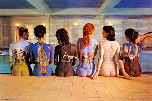 Poster Pink Floyd Back Catalogue 61 x 91