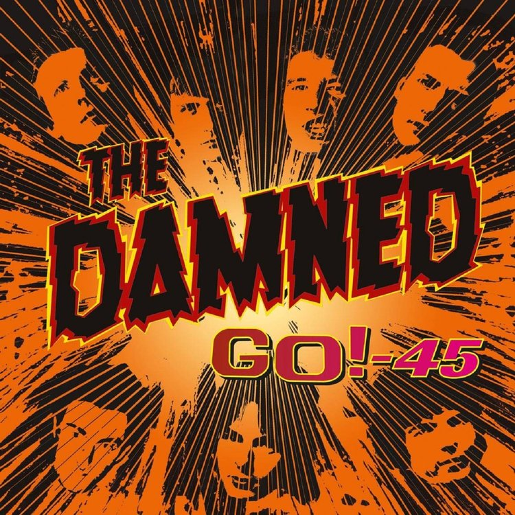 Damned, The - Go! - 45 Lp