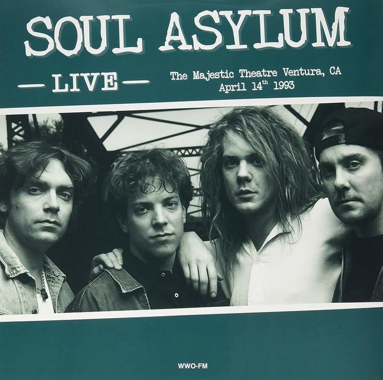 Soul Asylum – Live At The Majestic Theatre, Ventura, Ca, April 14th 1993 Lp