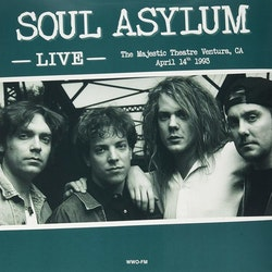 Soul Asylum ‎– Live At The Majestic Theatre, Ventura, Ca, April 14th 1993 Lp