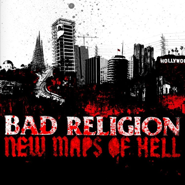 Bad Religion - New Maps Of Hell Lp