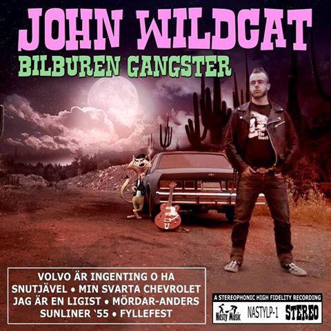 John Wildcat - Bilburen gangster Lp