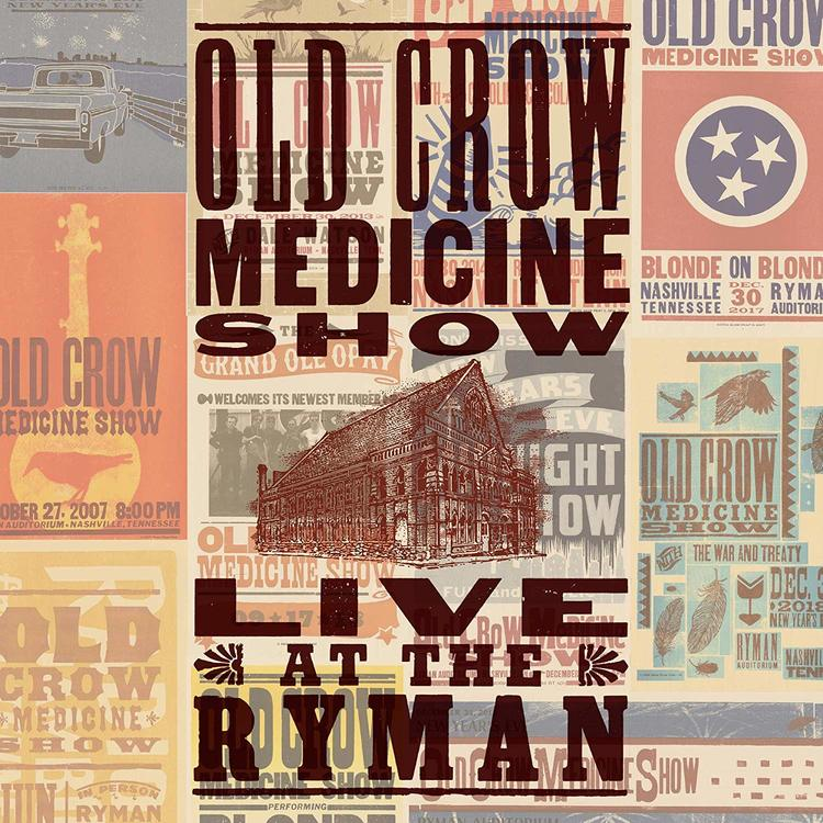 Old Crow Medicine Show – Live At The Ryman Lp