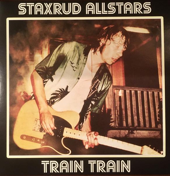 """Staxrud All Stars – Train Train / Money - LTD GRØNN (7"""")"""